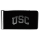 Siskiyou Buckle USC Trojans Black and Steel Money Clip, CBKM53