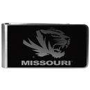 Siskiyou Buckle Missouri Tigers Black and Steel Money Clip, CBKM67