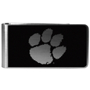 Siskiyou Buckle Clemson Tigers Black and Steel Money Clip, CBKM69