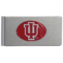 Siskiyou Buckle CBMC39 Indiana Hoosiers Brushed Metal Money Clip