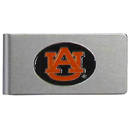 Siskiyou Buckle CBMC42 Auburn Tigers Brushed Metal Money Clip