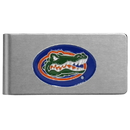 Siskiyou Buckle CBMC4 Florida Gators Brushed Metal Money Clip