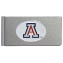 Siskiyou Buckle CBMC54 Arizona Wildcats Brushed Metal Money Clip