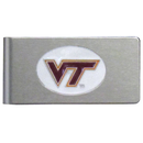Siskiyou Buckle CBMC61 Virginia Tech Hokies Brushed Metal Money Clip