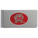 Siskiyou Buckle CBMC64 Maryland Terrapins Brushed Metal Money Clip