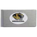 Siskiyou Buckle CBMC67 Missouri Tigers Brushed Metal Money Clip