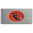 Siskiyou Buckle CBMC72 Oregon St. Beavers Brushed Metal Money Clip