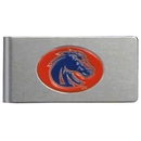 Siskiyou Buckle CBMC73 Boise St. Broncos Brushed Metal Money Clip