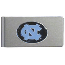 Siskiyou Buckle CBMC9 N. Carolina Tar Heels Brushed Metal Money Clip