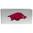 Siskiyou Buckle Arkansas Razorbacks Logo Money Clip, CBMP12