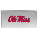 Siskiyou Buckle Mississippi Rebels Logo Money Clip, CBMP59