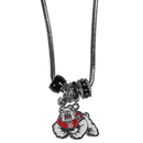 Siskiyou Buckle Fresno St. Bulldogs Euro Bead Necklace, CBNK100