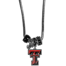 Siskiyou Buckle CBNK30 Texas Tech Raiders Euro Bead Necklace