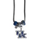 Siskiyou Buckle CBNK35 Kentucky Wildcats Euro Bead Necklace