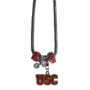 Siskiyou Buckle CBNK53 USC Trojans Euro Bead Necklace