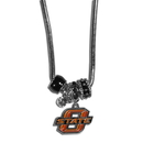 Siskiyou Buckle CBNK58 Oklahoma State Cowboys Euro Bead Necklace