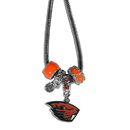 Siskiyou Buckle CBNK72 Oregon St. Beavers Euro Bead Necklace