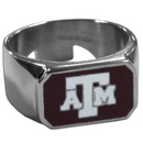 Siskiyou Buckle CBOR26-10 Texas A & M Aggies Steel Ring