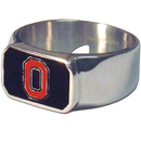 Siskiyou Buckle CBOR38-9 Ohio St. Buckeyes Steel Ring