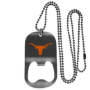 Siskiyou Buckle Texas Longhorns Bottle Opener Tag Necklace, CBTN22