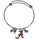 Siskiyou Buckle Alabama Crimson Tide Charm Bangle Bracelet, CCBB13
