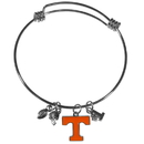 Siskiyou Buckle Tennessee Volunteers Charm Bangle Bracelet, CCBB25