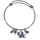 Siskiyou Buckle Kentucky Wildcats Charm Bangle Bracelet, CCBB35