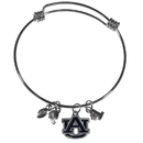 Siskiyou Buckle Auburn Tigers Charm Bangle Bracelet, CCBB42