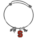 Siskiyou Buckle Syracuse Orange Charm Bangle Bracelet, CCBB62