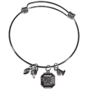 Siskiyou Buckle S. Carolina Gamecocks Charm Bangle Bracelet, CCBB63