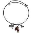 Siskiyou Buckle Arizona St. Sun Devils Charm Bangle Bracelet, CCBB68