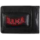 Siskiyou Buckle CCCP13 Alabama Crimson Tide Logo Leather Cash and Cardholder