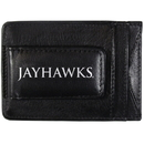 Siskiyou Buckle CCCP21 Kansas Jayhawks Logo Leather Cash and Cardholder