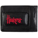 Siskiyou Buckle CCCP3 Nebraska Cornhuskers Logo Leather Cash and Cardholder