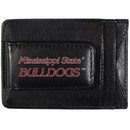 Siskiyou Buckle CCCP45 Mississippi St. Bulldogs Logo Leather Cash and Cardholder