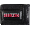 Siskiyou Buckle CCCP48 Oklahoma Sooners Logo Leather Cash and Cardholder