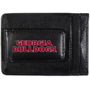 Siskiyou Buckle CCCP5 Georgia Bulldogs Logo Leather Cash and Cardholder
