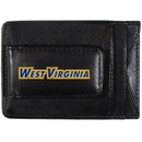 Siskiyou Buckle CCCP60 W. Virginia Mountaineers Logo Leather Cash and Cardholder