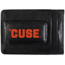 Siskiyou Buckle CCCP62 Syracuse Orange Logo Leather Cash and Cardholder