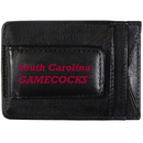 Siskiyou Buckle CCCP63 S. Carolina Gamecocks Logo Leather Cash and Cardholder