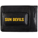 Siskiyou Buckle CCCP68 Arizona St. Sun Devils Logo Leather Cash and Cardholder