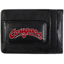 Siskiyou Buckle CCCP71 Washington St. Cougars Logo Leather Cash and Cardholder