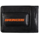 Siskiyou Buckle CCCP73 Boise St. Broncos Logo Leather Cash and Cardholder