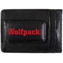 Siskiyou Buckle CCCP79 N. Carolina St. Wolfpack Logo Leather Cash and Cardholder