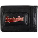 Siskiyou Buckle CCCP7 Florida St. Seminoles Logo Leather Cash and Cardholder