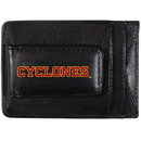 Siskiyou Buckle CCCP83 Iowa St. Cyclones Logo Leather Cash and Cardholder