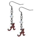Siskiyou Buckle CCE13 Alabama Crimson Tide Crystal Dangle Earrings