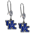 Siskiyou Buckle CCE35 Kentucky Wildcats Crystal Dangle Earrings