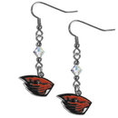 Siskiyou Buckle CCE72 Oregon St. Beavers Crystal Dangle Earrings
