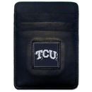 Siskiyou Buckle CCH112BX TCU Horned Frogs Leather Money Clip/Cardholder